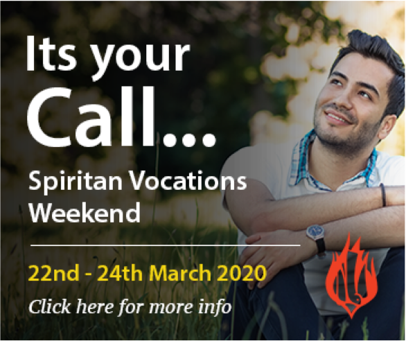 Spiritan Advert Vocations