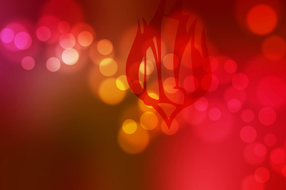 Spiritans Logo on red background