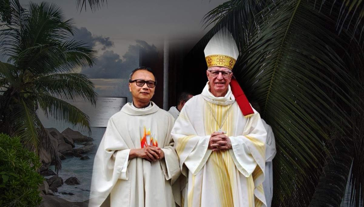 Bishop Denis Wiehe C.S.Sp. Retires as Bishop of The Seychelles